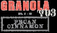 Bliss-Gourmet Pecan Cinnamon Granola