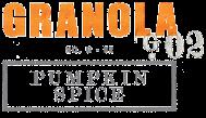 Bliss-Gourmet Pumpkin Spice Granola