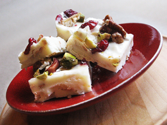 Bliss Gourmet Foods recipe - Holiday Bark