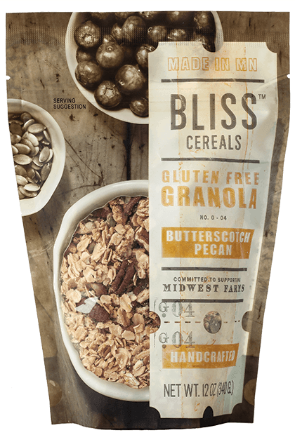 Bliss Butterscotch Pecan Granola