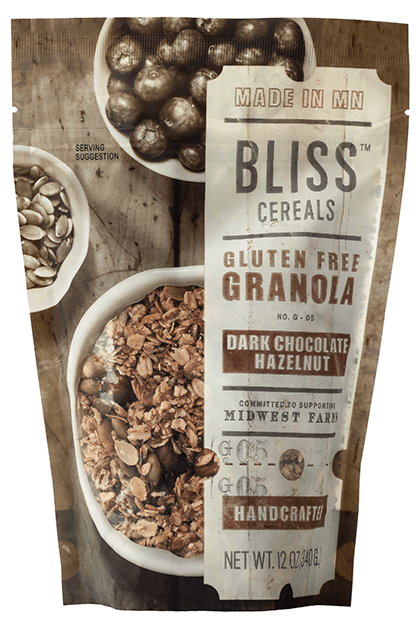 Bliss Dark Chocolate Hazelnut Granola