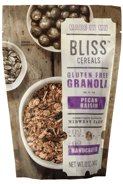 Bliss Pecan Raisin Granola